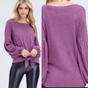 Sweaters - ❗️ SALE ❗️Off The Shoulder Puff Sleeve Sweater